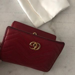 Gucci Bags - Authentic Gucci Marmont Wallet